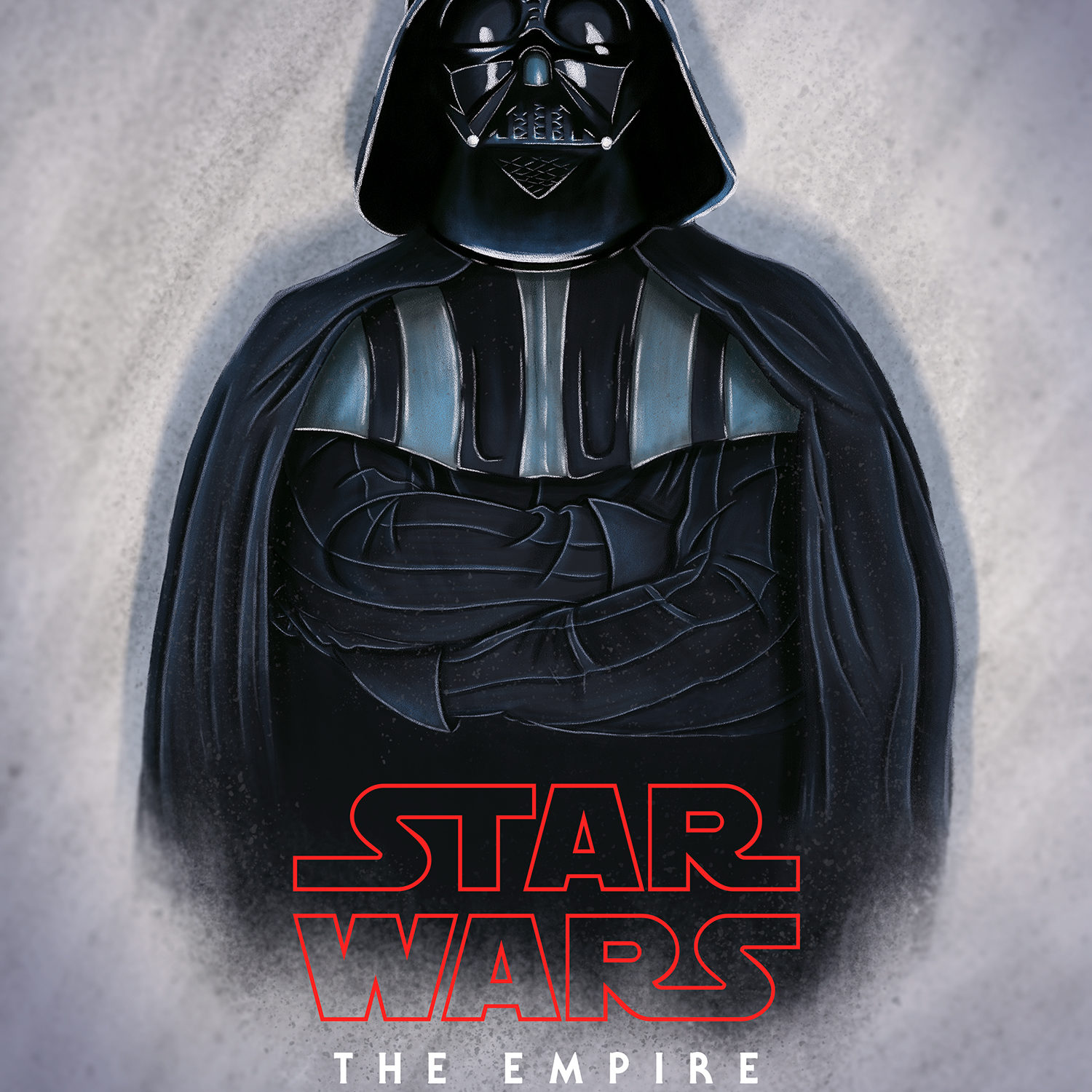 An alternate movie poster of Star Wars: The Empire Strikes Back.